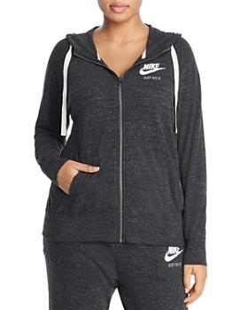 06078d2c5f71e Nike Plus - Gym Vintage Full Zip Hoodie ...