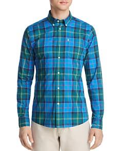 Barbour - Toward Plaid Tailored Slim Fit Button-Down Shirt