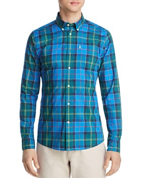 Barbour - Toward Plaid Tailored Slim Fit Button-Down Shirt