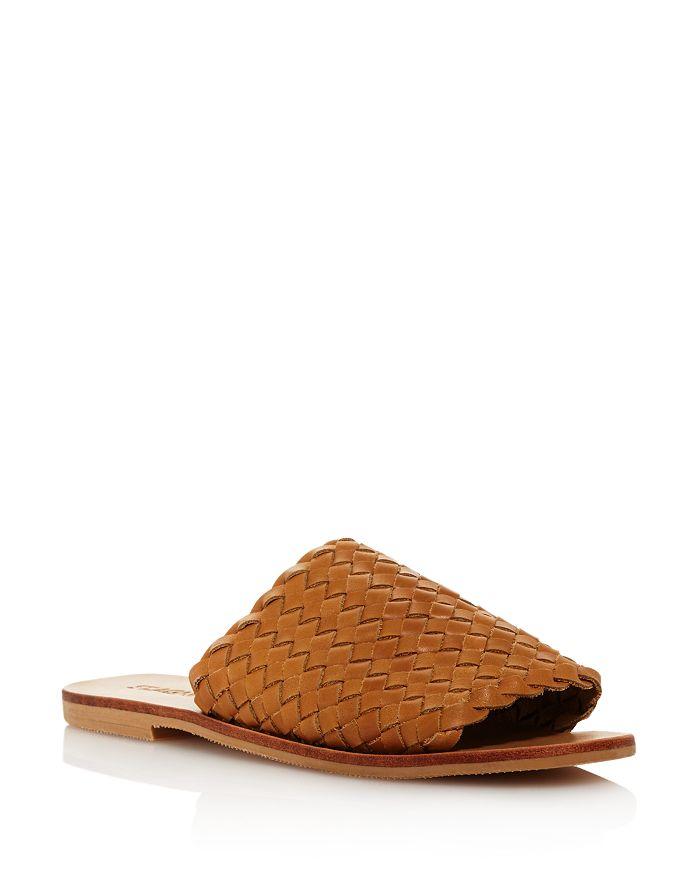 8d91f24c0 St. Agni - Women s Corfu Woven Leather Slide Sandals