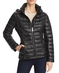 Calvin Klein - Packable Short Quilted Down Coat