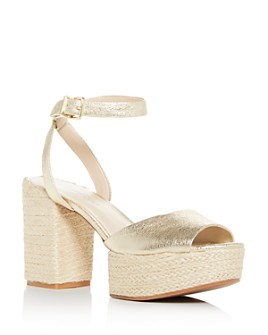 Kenneth Cole - Women's Phoenix High Block Heel Platform Sandals