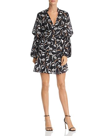 Acler - Zammit Draped Floral Print Dress