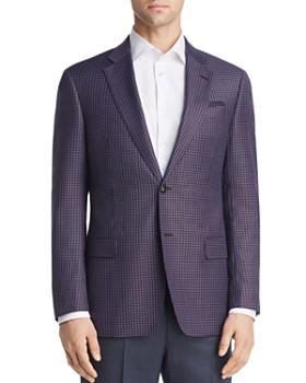 Armani - Virgin Wool Regular Fit Tailored Jacket