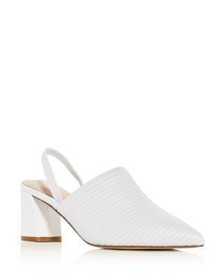 Women's Liza Pointed Toe Block Heel Mules by Rachel Zoe