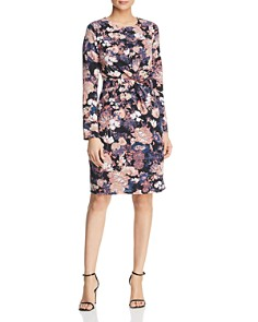 Vero Moda - Marlene Floral Twist Front Dress