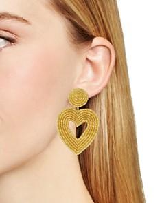 BAUBLEBAR - Vionnet Heart Drop Earrings