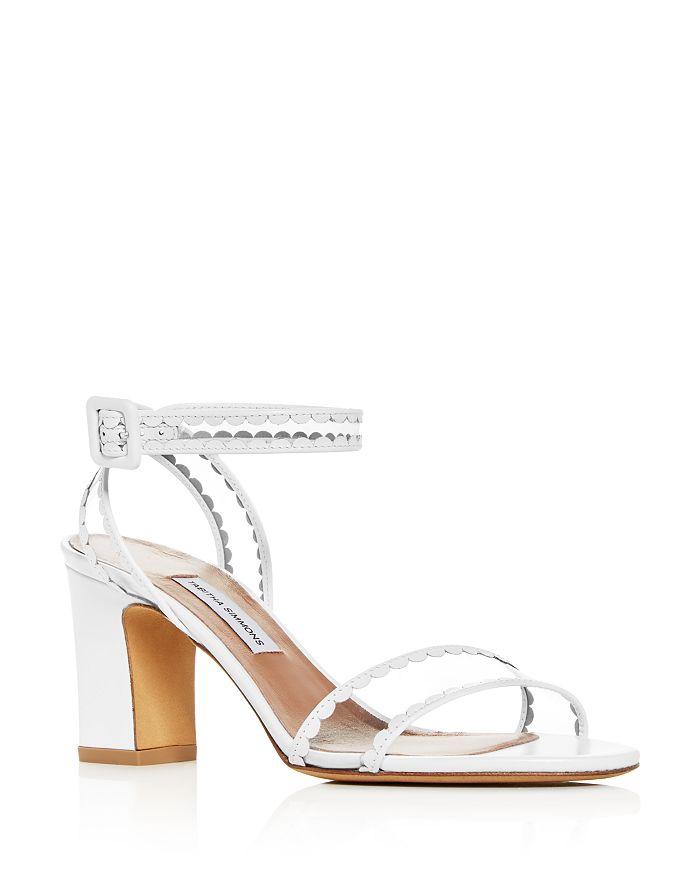 Tabitha Simmons - Women's Leticia Scallop Trim High-Heel Sandals