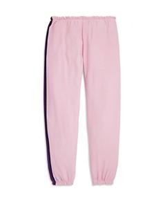 CHASER - Girls' Stripe & Heart Sweatpants - Little Kid, Big Kid