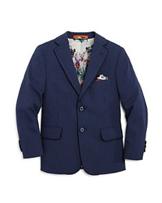 Tallia - Boys' Seersucker Sport Coat - Big Kid