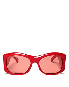 Balenciaga - Women's Oversized Rectangular Sunglasses, 59mm