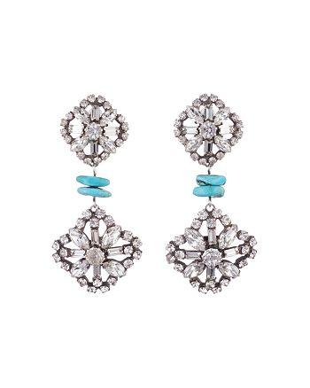 420309a876980 Dannijo Jaws Earrings | Bloomingdale's