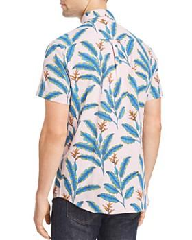 Sovereign Code - Abbott Short-Sleeve Orchid-Print Regular Fit Button-Down Shirt