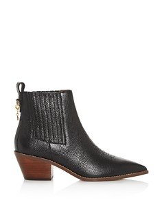 COACH - Women's Melody Pointed-Toe Booties