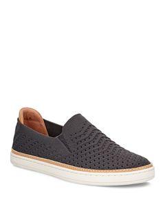 912b19675f4 UGG® Women's Sammy Chevron Metallic Knit Slip-On Sneakers ...