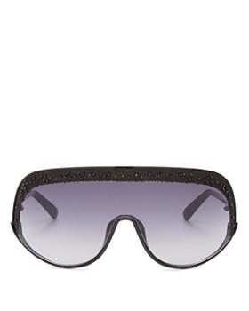 5088c0805cb0b Jimmy Choo - Women s Embellished Shield Sunglasses