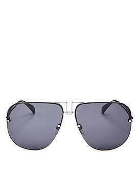 Givenchy - Women's Brow Bar Aviator Sunglasses, 64mm