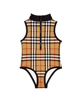 591f4859e97 Burberry - Girls  Siera Vintage Check Swimsuit - Little Kid