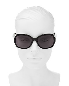 kate spade new york - Women's Amberlynn Square Sunglasses, 57mm