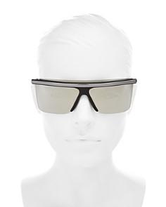 Kenzo - Women's Mirrored Square Shield Sunglasses, 60mm