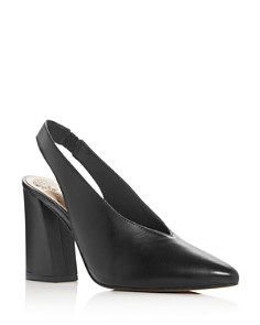 VINCE CAMUTO - Women's Tashinta Pointed-Toe Block High-Heel Pumps
