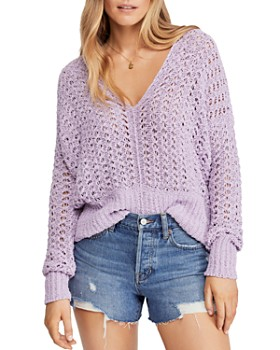 84fb097f51f Free People - Best Of You Crochet Sweater ...