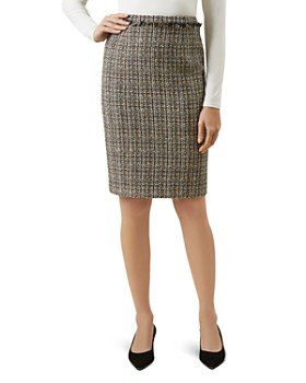 HOBBS LONDON - Jessie Tweed Pencil Skirt