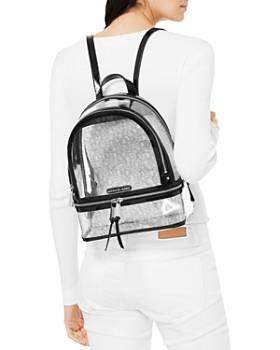 MICHAEL Michael Kors - Rhea Zip Clear Backpack