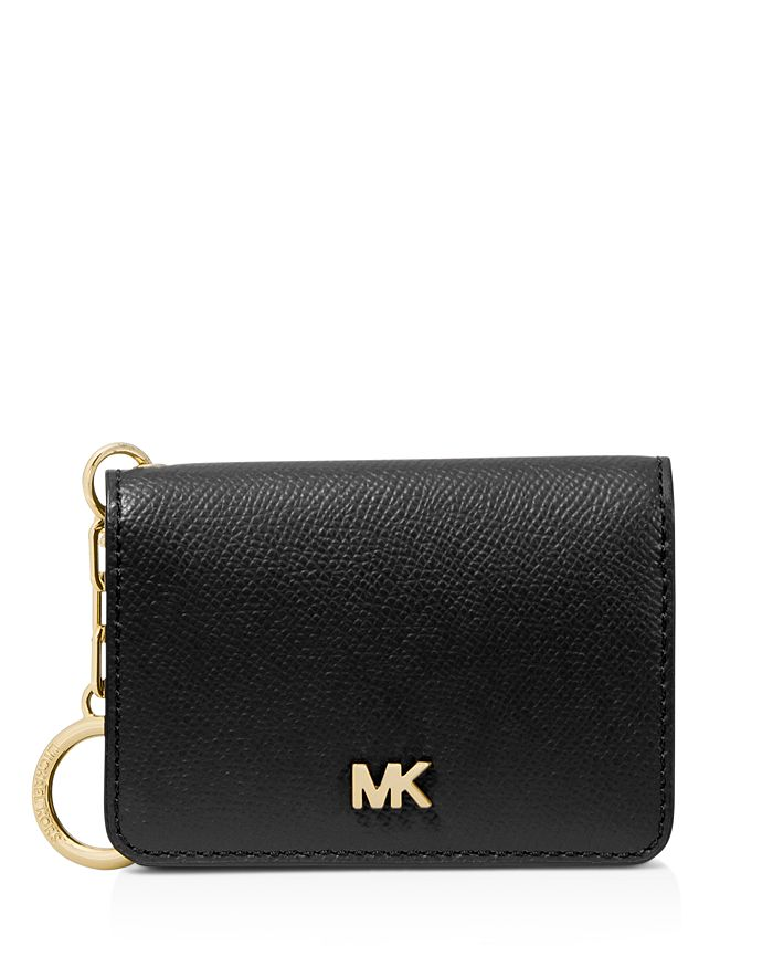 MICHAEL Michael Kors - Leather Key Ring Card Holder
