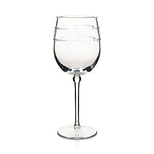 Juliska Isabella Acrylic Wine Glass In Clear