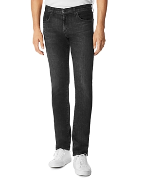 J Brand Tyler Slim Fit Jeans in Carbon Black
