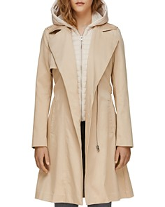 Soia & Kyo - Athie Contrast Hooded Raincoat