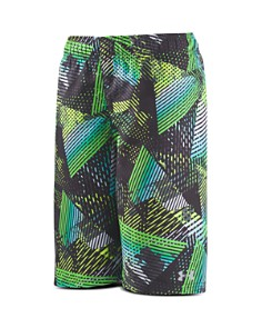 Under Armour - Boys' Triangle Camo Volley Swim Trunks - Little Kid, Big Kid