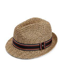 b3b139e41585e Ted Baker Lemony Straw Trilby Hat