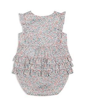 Tartine et Chocolat - Girls' Ruffle-Trim Floral Romper - Baby