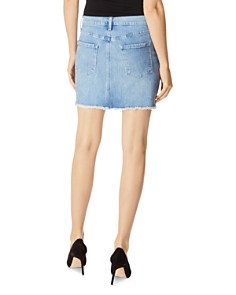 J Brand - Bonny Denim Mini Skirt in Andromeda