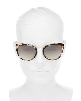 24fed3f5f5 ... 54mm Prada - Women s Mirrored Cat Eye Sunglasses