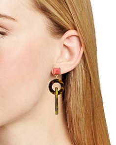AQUA - Tortoise Drop Earrings - 100% Exclusive