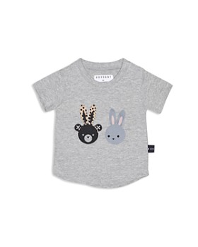 Huxbaby - Girls' Bunny & Bear Tee - Baby