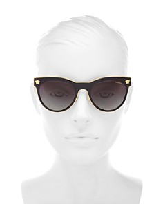 Versace - Women's Polarized Round Sunglasses, 54mm