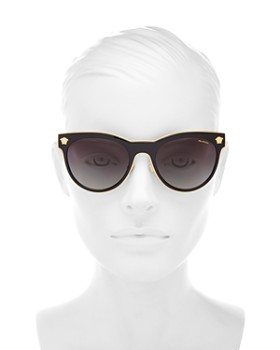 4dd0a4f16afce ... 54mm Versace - Women s Polarized Round Sunglasses