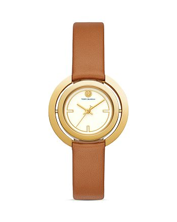 Tory Burch - The Grier Leather Strap Watch, 26mm