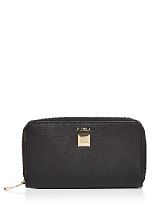 Furla - Mimi Slim Leather Zip Wallet
