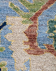 """Solo Rugs - Ansan Eclectic Runner Rug, 2'7"""" x 8'3"""""""