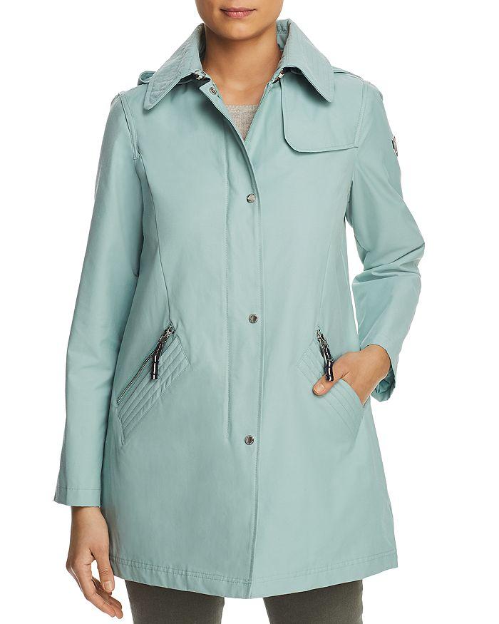 VINCE CAMUTO - Hooded Raincoat