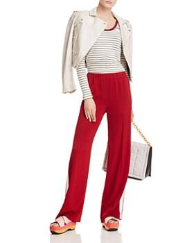Joie - Tayanita Long Sleeve Striped Tee