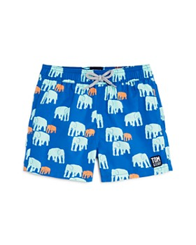 TOM & TEDDY - Boys' Elephant Swim Trunks - Little Kid, Big Kid