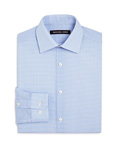 Michael Kors - Boys' Checked Dress Shirt - Big Kid