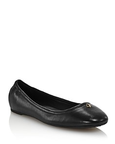 kate spade new york - Women's Kora Leather Ballet Flats