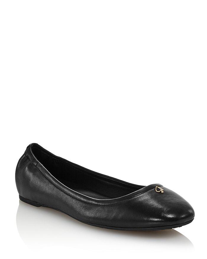 67968d157298 kate spade new york - Women s Kora Leather Ballet Flats